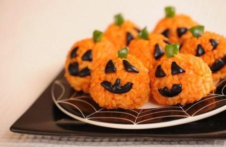 I mini arancini golosi di Halloween