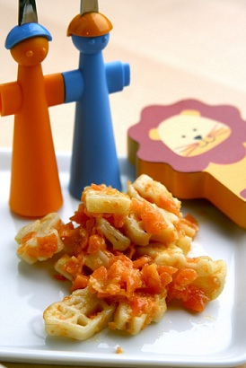 pasta pesto carote