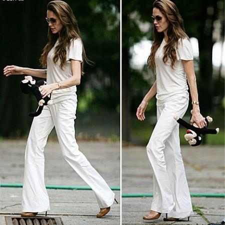 Angelina Jolie e la sua dieta da 600 calorie al giorno: serio rischio anoressia per l'attrice