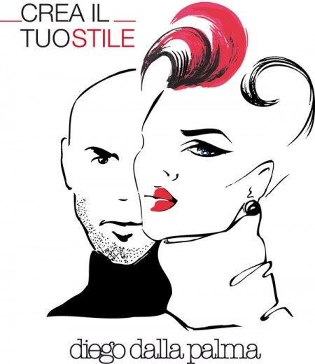 """Diego Dalla Palma lancia la nuova App per iPhone """"Crea il tuo stile"""", per un make up personalizzato!"""