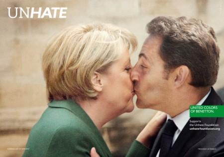 Benetton lancia la sua nuova campagna UnHate: è polemica