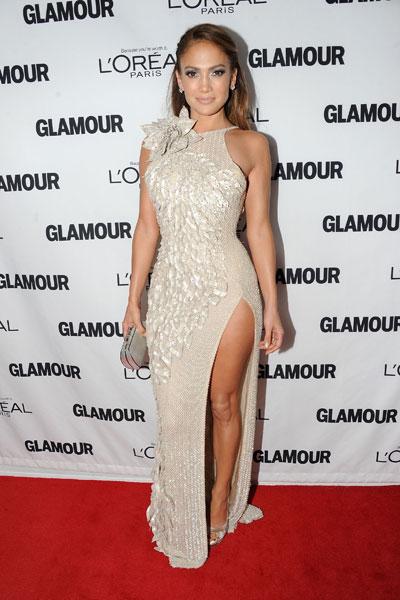 Jennifer Lopez è la donna dell'anno, incoronata ai Glamour's 2011 Women Of The Year Awards