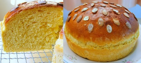 La ricetta sfiziosa del pane alla zucca