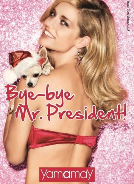 """Yamamay saluta Silvio Berlusconi: """"Bye bye Mr.President!"""""""