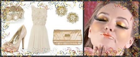 """Per Capodanno fatevi """"d'oro"""", puntando su un look total golden"""