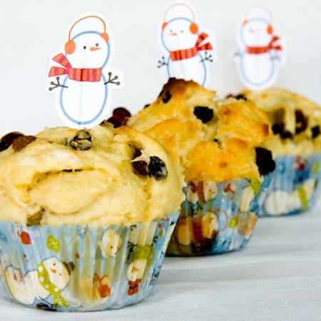 Muffin al panettone, perfetti per riciclare gli avanzi