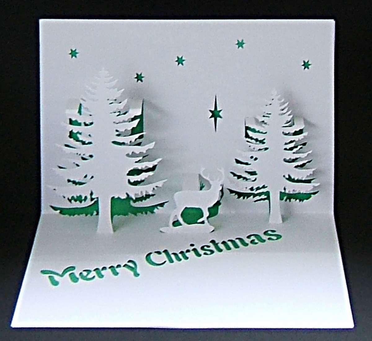 Biglietti Di Natale Divertenti.Biglietti Di Natale Pop Up Fai Da Te Facili Divertenti E Originali