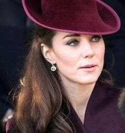Il primo Natale di William e Kate sposi , e come sempre la Duchessa è la più elegante