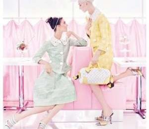 Louis Vuitton, romanticismo e dolcezza per l'adv primavera estate 2012