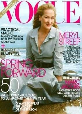 Meryl Streep su Vogue US, una splendida sessantenne con una classe innata