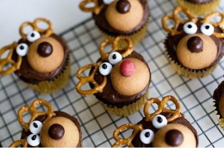 Dolci Di Natale Bambini.Dolci Natale 2011 Muffin A Forma Di Renne Pourfemme