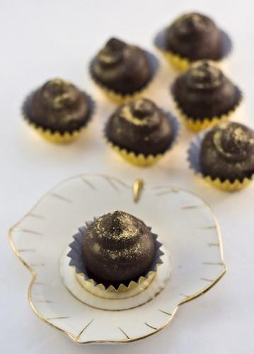 Tartufi con zenzero e cioccolato, la ricetta
