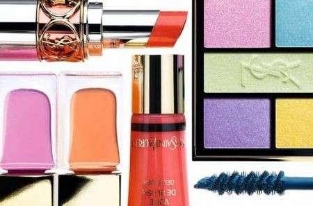 La collezione Make up Candy Face di Yves Saint Laurent primavera estate 2012