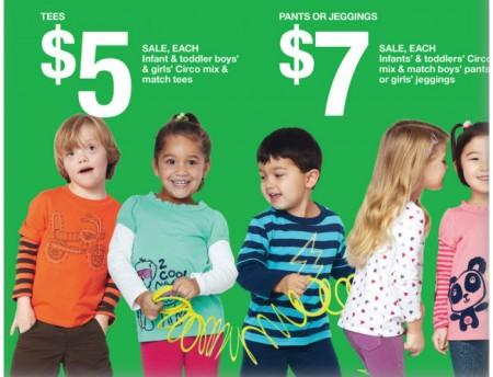 Bimbo Down testimonial di moda infantile per una catena di abbigliamento USA