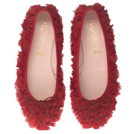 Per San Valentino 2012 Pretty Ballerinas propone le ballerine romantiche