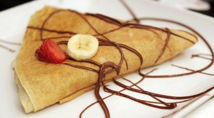 Ricette dolci e golose: le crepes alla nutella