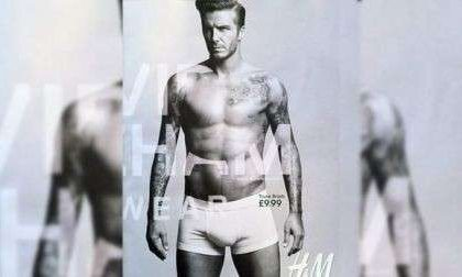 David Beckham ci prova con la moda, ora è stilista di intimo maschile per H&M