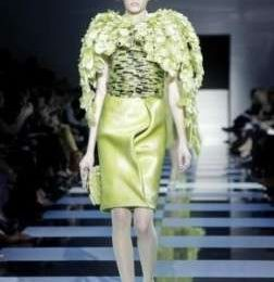 Sfilate haute couture P/E 2012: a Parigi va in scena Armani Privè