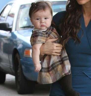 Harper Seven Beckham, la neonata vip meglio vestita
