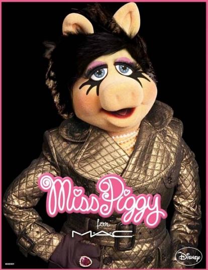 La collezione MAC & Miss Piggy per l'inverno 2012