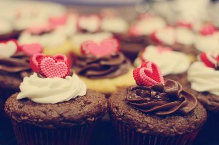 Ricette San Valentino: muffin romantici al cioccolato