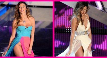 """Sanremo 2012, seconda serata: appare la Mrazova ma Belen sfoggia uno spacco """"assassino""""…"""