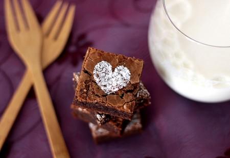 I brownies alla nutella per San Valentino