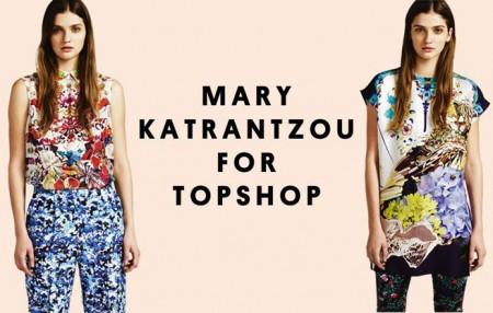 Topshop lancia la collezione firmata dalla stilista Mary Katrantzou