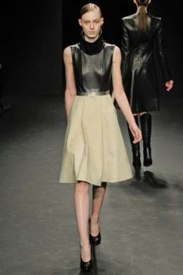 La collezione A/I 2012-13 di Calvin Klein Collection alla NY Fashion Week