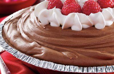 La crostata al cioccolato romantica per San Valentino