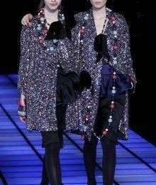 La sfilata di Emporio Armani a Milano Moda Donna A/I 2012-13 [FOTO]