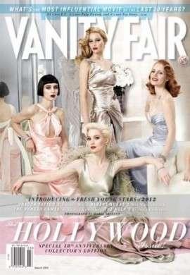 Le attrici emergenti insieme su Vanity Fair marzo 2012