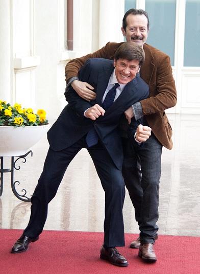 Sanremo 2012: Ferragamo, Armani e Costume National per Morandi, Celentano e Papaleo