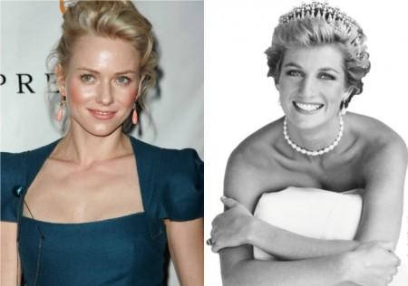 """Naomi Watts sarà Lady Diana al cinema con il film """"Caught in Flight"""""""