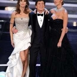 Elisabetta Canalis e Belen Rodriguez a Sanremo 2012: gli abiti della prima serata