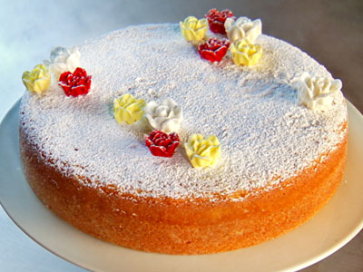 Torta al limone light