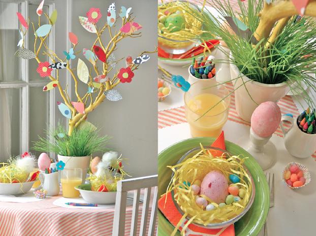 Decorazioni Pasquali Da Tavola : Come apparecchiare la tavola per pasqua pourfemme