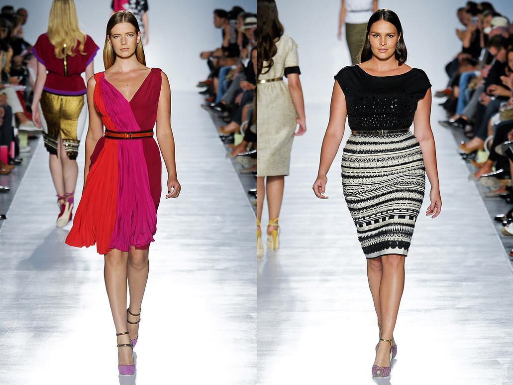 La moda curvy di Elena Miro
