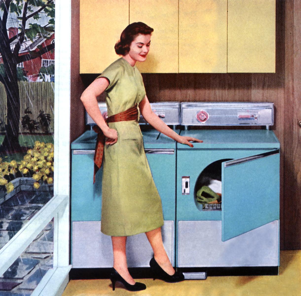Elettrodomestici di genere, la lavatrice è femmina