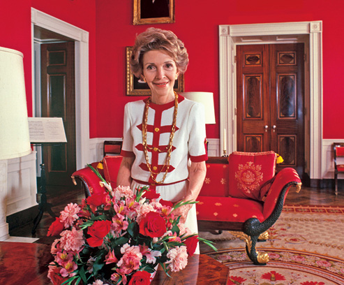 Nancy Reagan look
