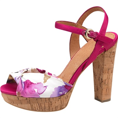 Sandali Bata tacco sughero