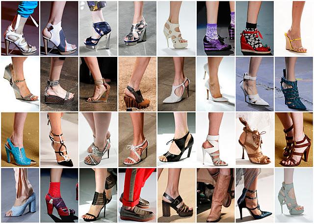 Sandali dell'estate 2012: tanto colore e tacchi altissimi