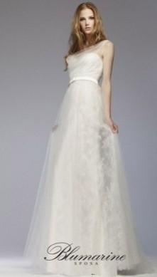 abito da sposa blumarine romantico