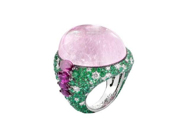 I gioielli per l'estate 2012 di de Grisogono si ispirano alla natura