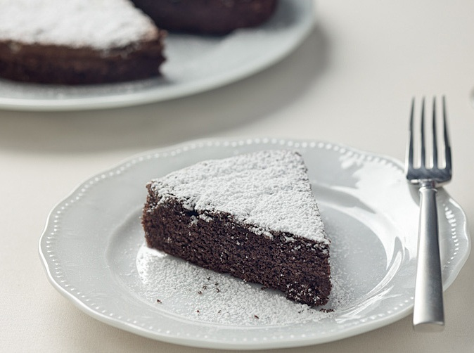 torta caprese celiachia
