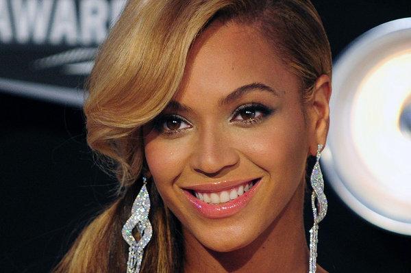 Beyonce primo piano