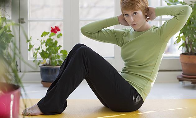Tutte in forma con l'home fitness, la ginnastica da casa