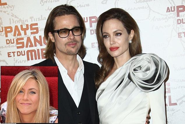 Jannifer Aniston matrimonio Angelina Jolie Brad Pitt