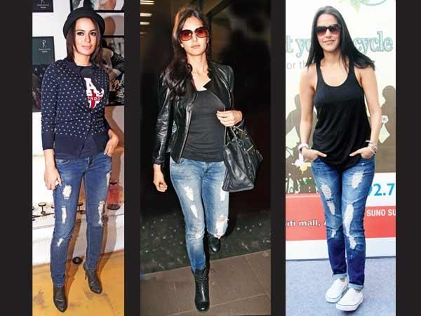 Jeans estate 2012 strappati