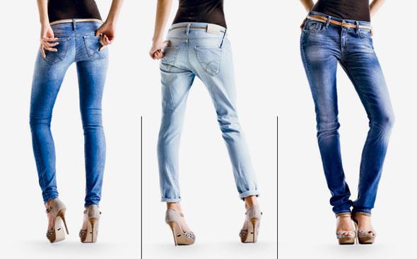 Jeans primavera-estate 2012: colorati, a fiori o strappati?